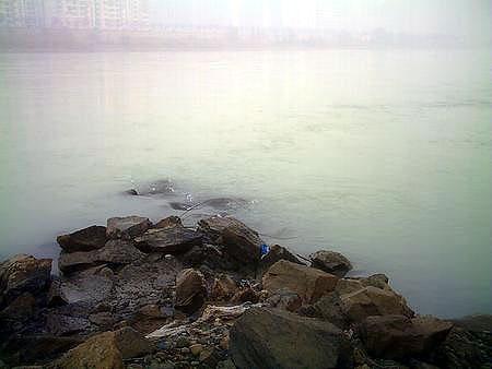 兰州/资料图片:2006年12月22日,黄河兰州段遭遇不明污染,导致约...
