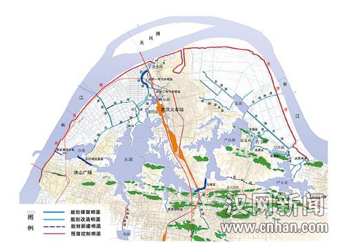 武汉东湖生态旅游风景区规划